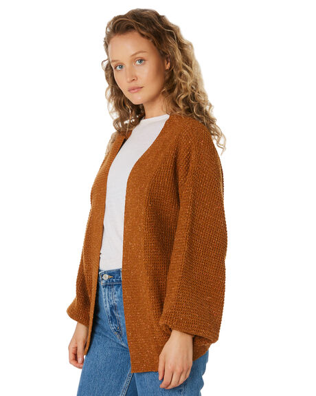 RUST WOMENS CLOTHING SWELL KNITS + CARDIGANS - S8189149RUST