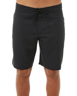 BRIGHT BLACK MENS CLOTHING OUTERKNOWN BOARDSHORTS - 1810019BBK