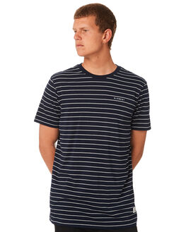 ECLIPSE NAVY MENS CLOTHING ELEMENT TEES - 183103ENVY