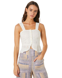 IVORY WOMENS CLOTHING FREE PEOPLE FASHION TOPS - OB9005521103