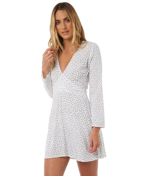 STAR PRINT WOMENS CLOTHING LILYA DRESSES - SVD23-PRLAW18STAR