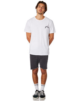 WHITE MENS CLOTHING RUSTY TEES - TTM2256WHT