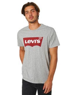 HEATHER GREY MENS CLOTHING LEVI'S TEES - 17783-0138