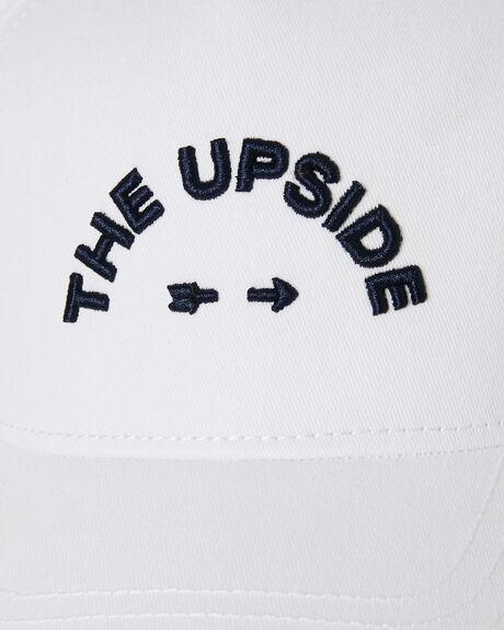WHITE INDIGO WOMENS ACCESSORIES THE UPSIDE HEADWEAR - USA319001WINDO