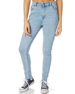 BLEACH WOMENS CLOTHING THE HIDDEN WAY JEANS - H8172197BLE