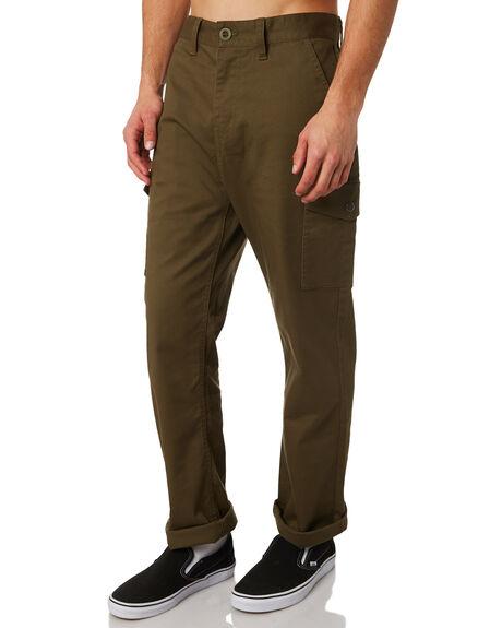 OLIVE OUTLET MENS BRIXTON PANTS - 04082OLIVE