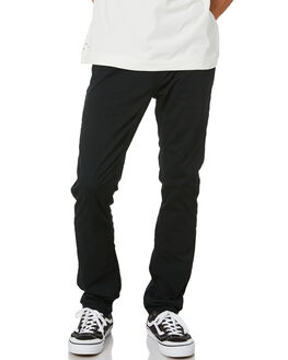 BLACK MENS CLOTHING VOLCOM PANTS - A1102001BLK