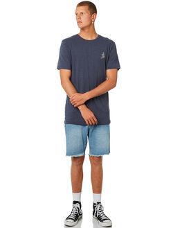 INDIGO MENS CLOTHING RHYTHM TEES - APR18M-PT09IND
