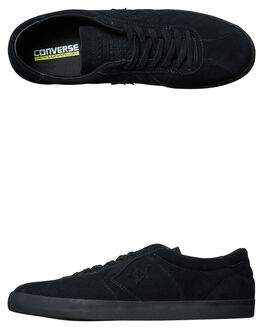 BLACK BLACK MENS FOOTWEAR CONVERSE SKATE SHOES - 157891BKBK
