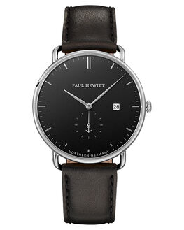 STAINLESS BLACK MENS ACCESSORIES PAUL HEWITT WATCHES - PH-TGA-S-B-2MSSBSB