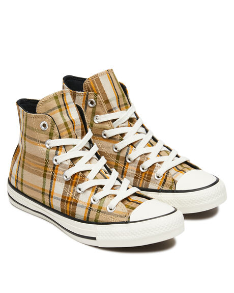 NOMAD KHAKI OUTLET WOMENS CONVERSE SNEAKERS - 568925CNKHKI