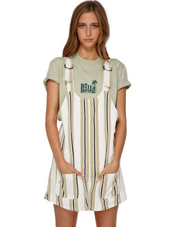 ANTIQUE WHITE WOMENS CLOTHING BILLABONG PLAYSUITS + OVERALLS - BB-6591278-A75