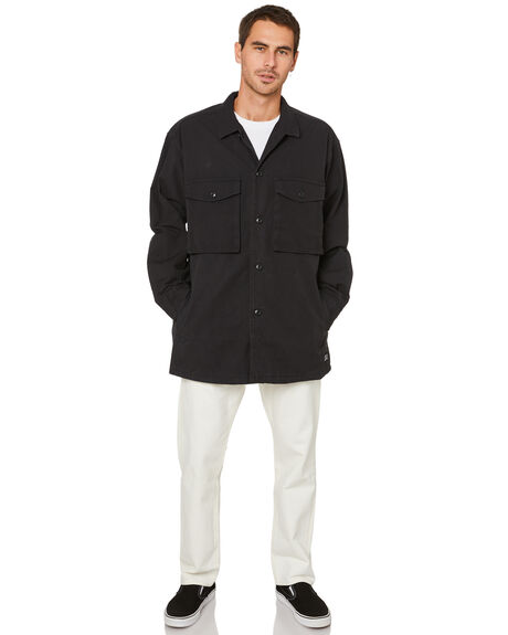 BLACK MENS CLOTHING LEVI'S JACKETS - 28654-0001