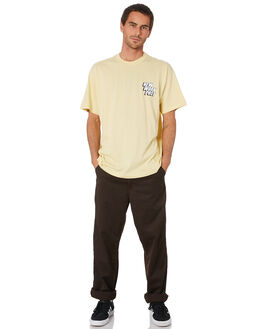PALE YELLOW MENS CLOTHING CARHARTT TEES - I02710805G