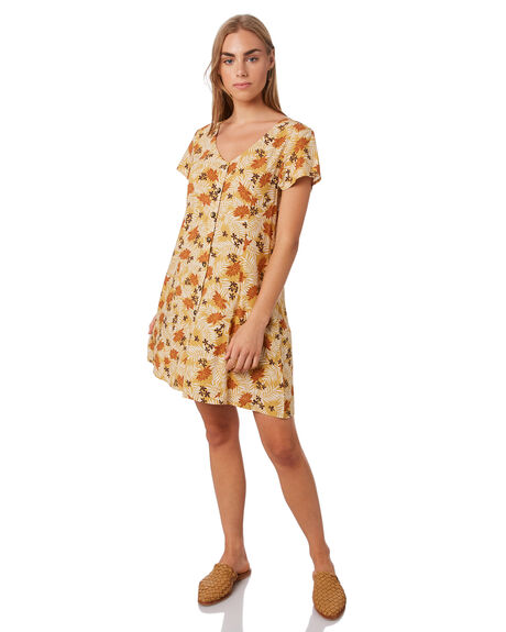 BOWIE LEAF WOMENS CLOTHING SWELL DRESSES - S8202458BOW