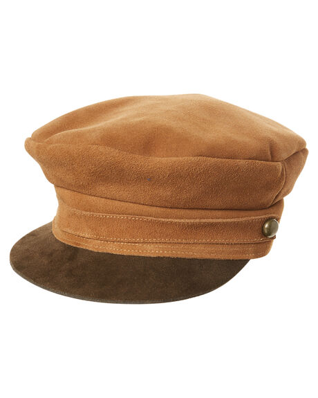 BROWN WOMENS ACCESSORIES LACK OF COLOR HEADWEAR - SDECAP1BRWN