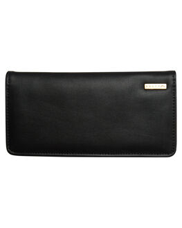 BLACK OUTLET WOMENS RUSTY PURSES + WALLETS - WAL0744BLK