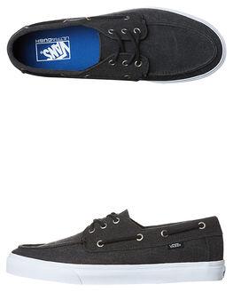 WASHED BLACK MENS FOOTWEAR VANS SNEAKERS - VN-A32SC4JTBLK