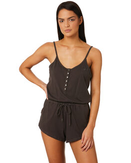CHARCOAL WOMENS CLOTHING AFENDS PLAYSUITS + OVERALLS - W184851CHAR