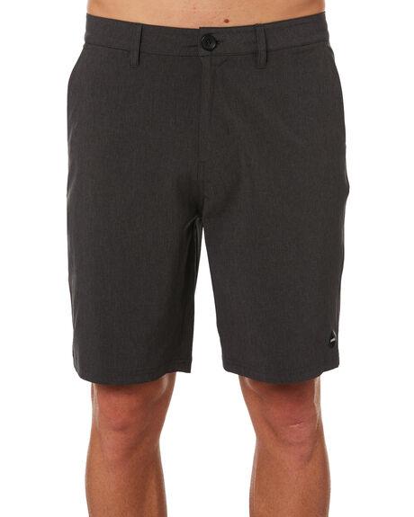BLACK MENS CLOTHING SWELL SHORTS - S5164247BLACK