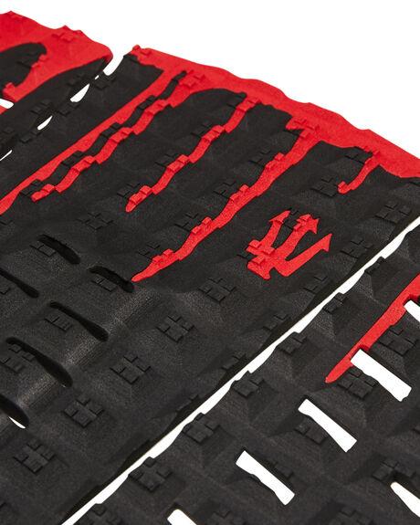 B LACK RED BOARDSPORTS SURF FK SURF TAILPADS - 1213BLKRD