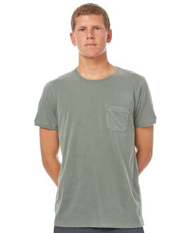 OLIVE MENS CLOTHING OUTERKNOWN TEES - 1210010OLV