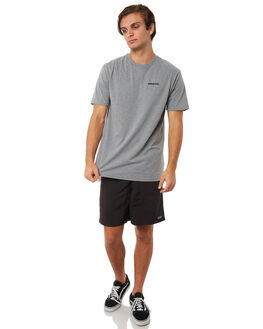 GRAVEL HEATHER MENS CLOTHING PATAGONIA TEES - 39174GLH