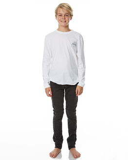 WORN BLACK KIDS BOYS BILLABONG JEANS - 8565359BLK