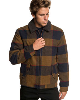 RUBBER HURRY DOWN MENS CLOTHING QUIKSILVER JACKETS - EQYJK03471-CPP1
