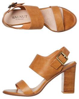 TAN WOMENS FOOTWEAR WALNUT HEELS - HAVANATAN