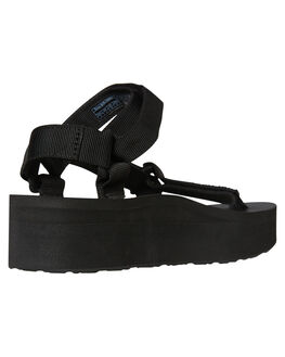 BLACK WOMENS FOOTWEAR TEVA FASHION SANDALS - T1008844BLK