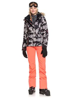 TRUE BLACK BOARDSPORTS SNOW ROXY WOMENS - ERJFT03963-KVJ0