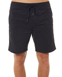 BLACK MENS CLOTHING ZANEROBE SHORTS - 611-WANBLK
