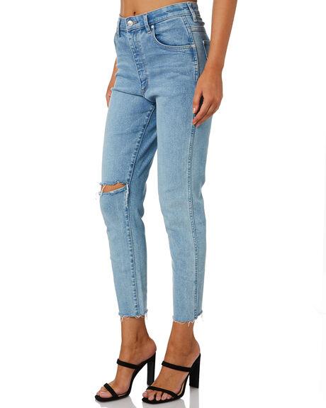 CHOIR DESTRUCT WOMENS CLOTHING WRANGLER JEANS - W-951639-NZ4