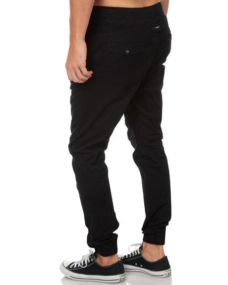 BLACK MENS CLOTHING ZANEROBE PANTS - 760-MTGBLK