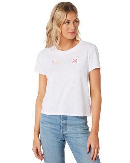 WHITE WOMENS CLOTHING LEVI'S TEES - 29674-00310031