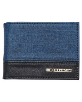NAVY HEATHER MENS ACCESSORIES BILLABONG WALLETS - 9671214NVY