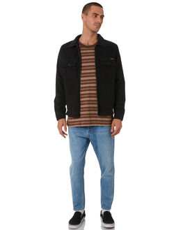 OLD BLACK MENS CLOTHING WRANGLER JACKETS - 901743712