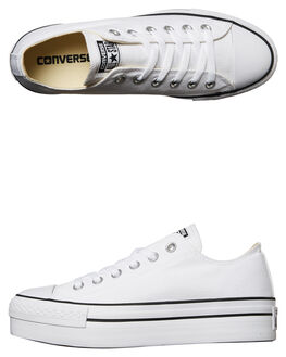 WHITE WOMENS FOOTWEAR CONVERSE SNEAKERS - 540265WHT