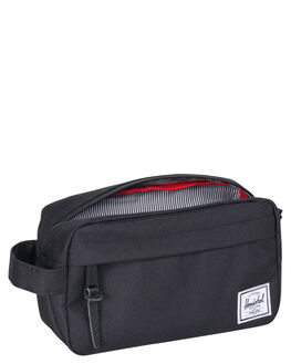 BLACK MENS ACCESSORIES HERSCHEL SUPPLY CO BAGS + BACKPACKS - 10347-00001-OSBLK