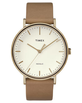 ROSE GOLD TAN MENS ACCESSORIES TIMEX WATCHES - TW2R26200RSEGD