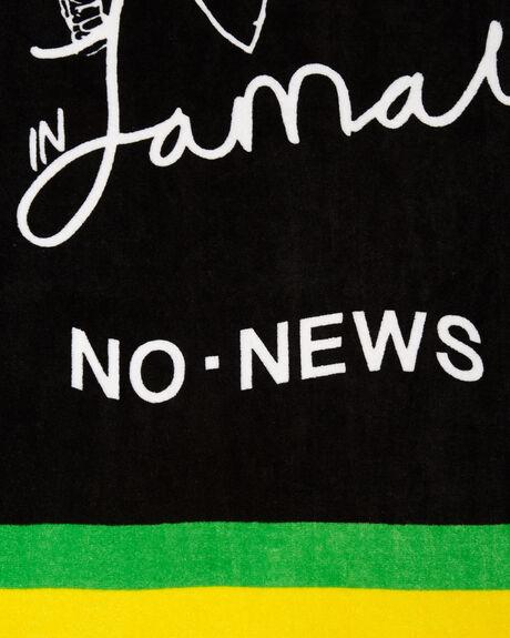 BLACK MENS ACCESSORIES NO NEWS TOWELS - N51741801BLK
