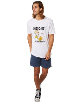 WHITE MENS CLOTHING INSIGHT TEES - 5000003386WHT