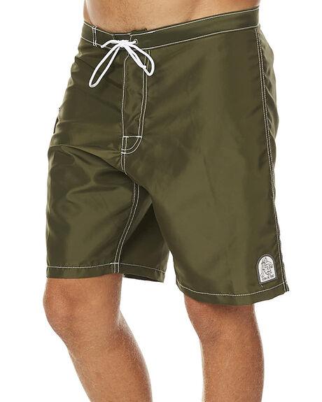 OLIVE MENS CLOTHING KATIN BOARDSHORTS - TRKYLFS16OLIVE
