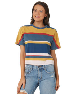MULTI WOMENS CLOTHING RUSTY TEES - TTL0978-MTI