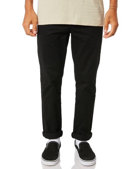 BLACK MENS CLOTHING SWELL PANTS - S5161191BLK