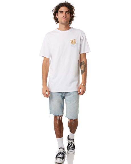 WHITE MENS CLOTHING SWELL TEES - S5222012WHT