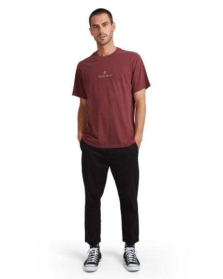 VINTAGE RED MENS CLOTHING ELEMENT TEES - EL-117003-V06