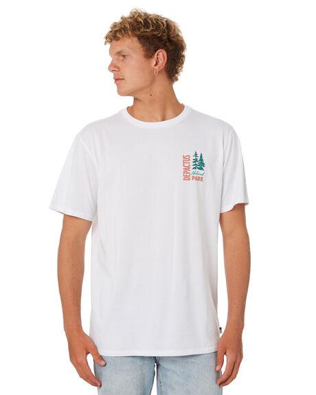 WHITE MENS CLOTHING DEPACTUS TEES - D5202008WHITE