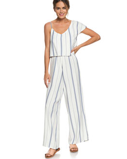 MARSHMALLOW WOMENS CLOTHING ROXY PLAYSUITS + OVERALLS - ERJWD03289WBT4